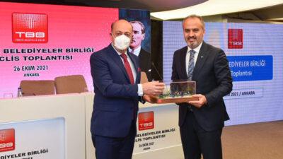 Bursa'nın 'Güvenli Okul Yolu' projesine ödül