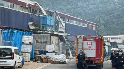 Bursa'da fabrikada patlama! Ölü ve yaralılar var…