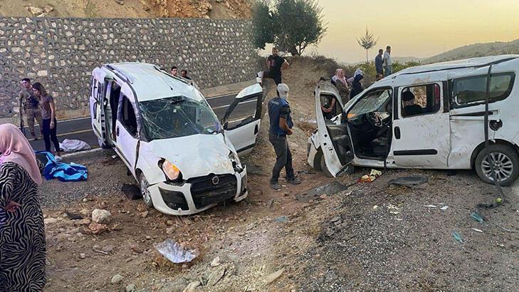İki kaza birden! 1 kişi öldü, 10 kişi yaralandı
