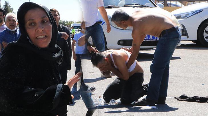 Duruşma sonrası adliye önünde kavga! 2 yaralı, 2 gözaltı
