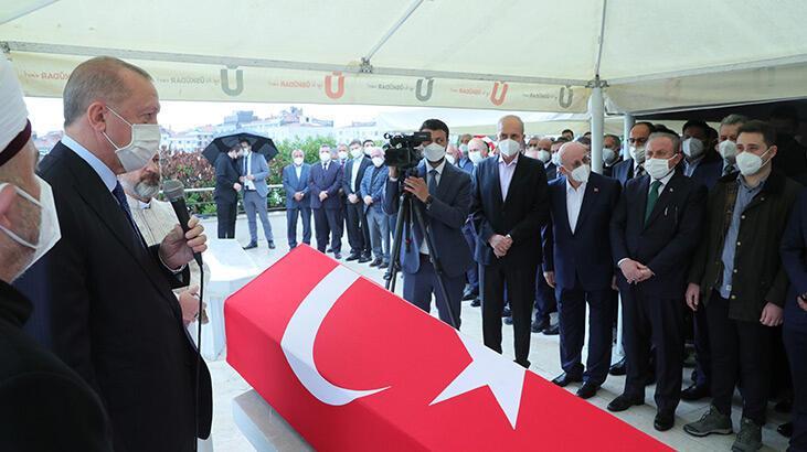 İsmet Uçma'ya veda! Cumhurbaşkanı Erdoğan da cenaze törenine katıldı
