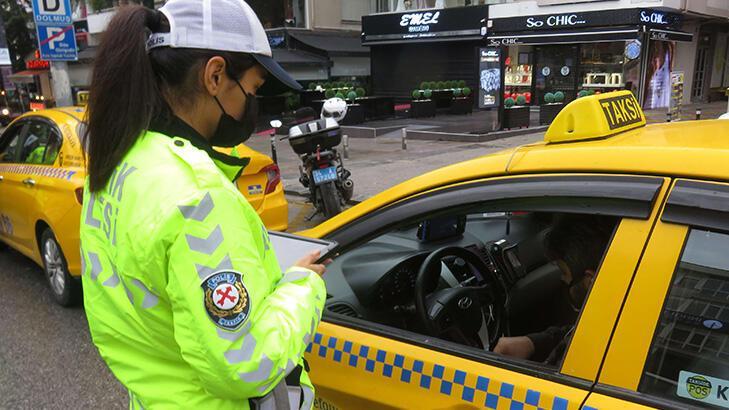 Türkiye genelinde vale ve taksilere yönelik denetim! 73 taksi trafikten men edildi