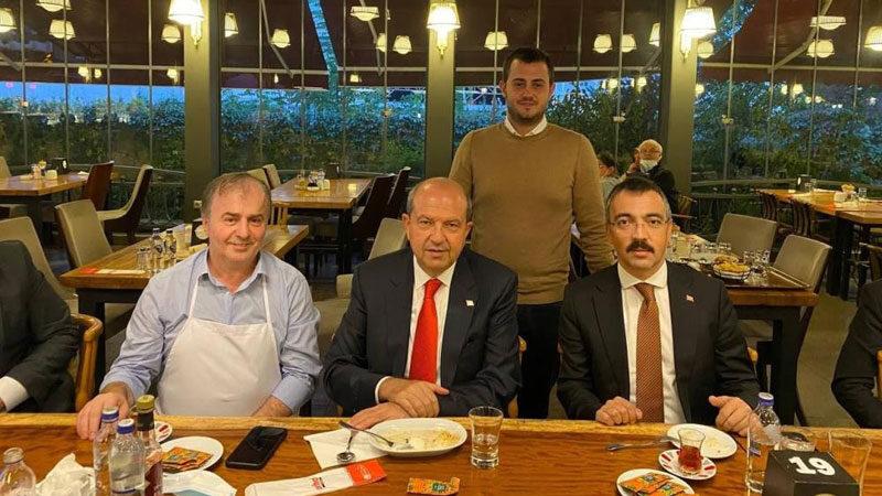 KKTC Cumhurbaşkanı Tatar'dan İnegöl'de köfte molası