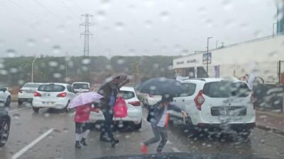 Bursa'da sağanak yağış
