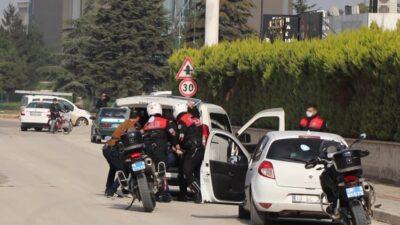Bursa'da 100 polisle 'Panter Tatbikatı' yapıldı
