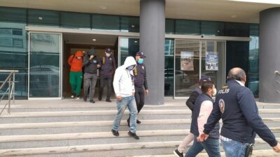 Bursa'da polisin dikkati çeteyi çökertti
