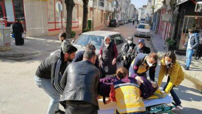 Bursa'da feci kaza! Yolun karşısına geçerken…