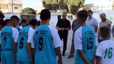 Savaş mağduru öğrencilere Bursa Osmangazi desteği