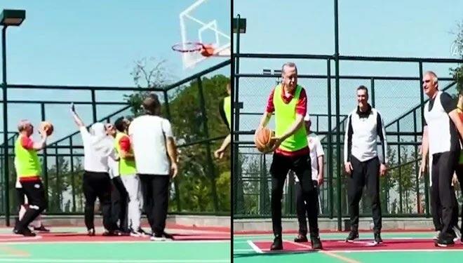 Cumhurbaşkanı Erdoğan'dan sağlık için spor çağrısı