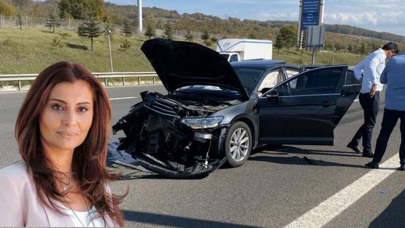 Hande Fırat trafik kazası geçirdi! Sağlık durumu nasıl?