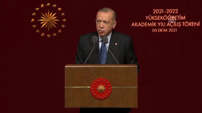 Cumhurbaşkanı Erdoğan'dan yüz yüze eğitim mesajı…