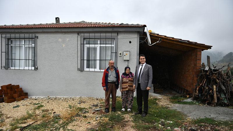 Sel mağduru Kılıç Ailesi evlerine kavuştu