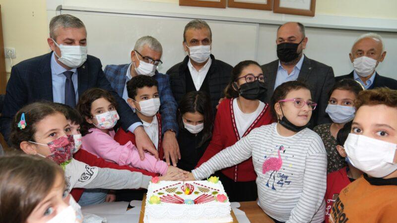 Uludağ OSB'den sel mağduru çocuklara yardım eli