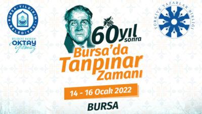 Bursa'da Tanpınar zamanı
