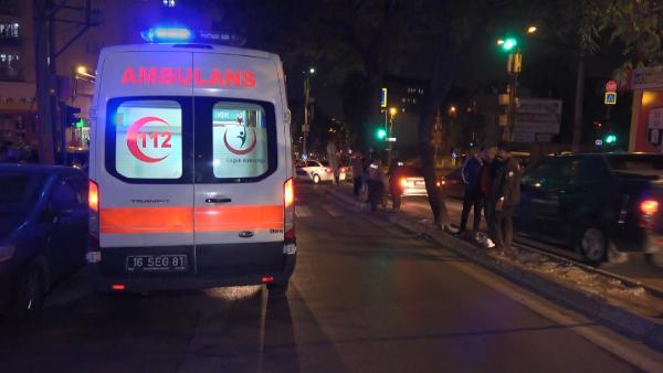 Bursa'da silahlı çatışma! Yoldan geçen bir kişi vuruldu: Gözaltılar var