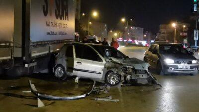 Bursa'da alkollü kadın sürücü dehşet saçtı