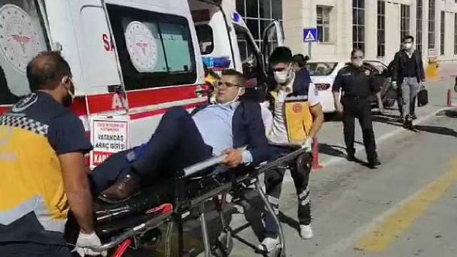Adliye otoparkında avukata silahlı saldırı