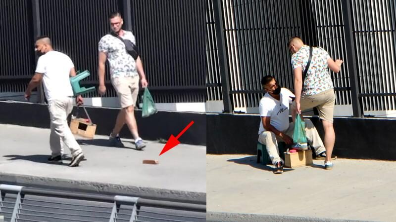 Turistlere 'fırçalı' tuzak! Gözaltına alındılar
