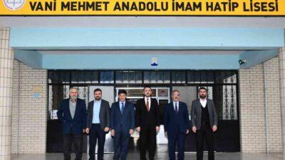 Başkan Tanır'dan İmam Hatip Okulları'na anlamlı ziyaret