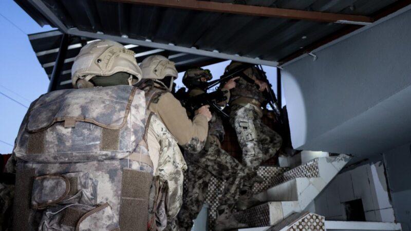 Bursa'da silah kaçakçılarına yönelik operasyon