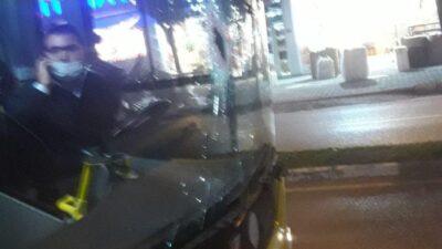 Bursa'da halk otobüsüne saldırı