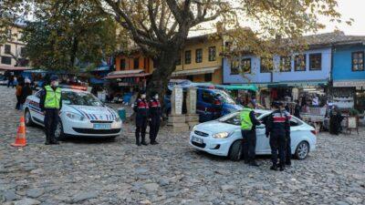 Bursa'da jandarmadan 'huzur ve güven' uygulaması