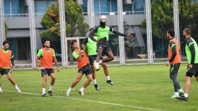 Bursaspor'da Boluspor maçı hazırlıkları sürüyor
