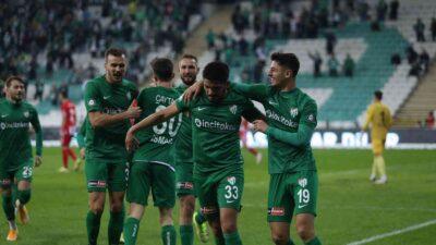 Bursaspor'un Balıkesirspor'a karşı büyük üstünlüğü var