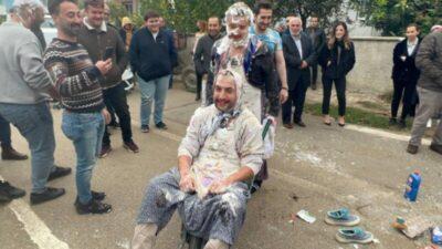 Bursa'da damada görülmemiş işkence!