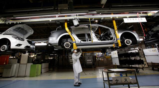 Otomotiv devi üretime ara verdi