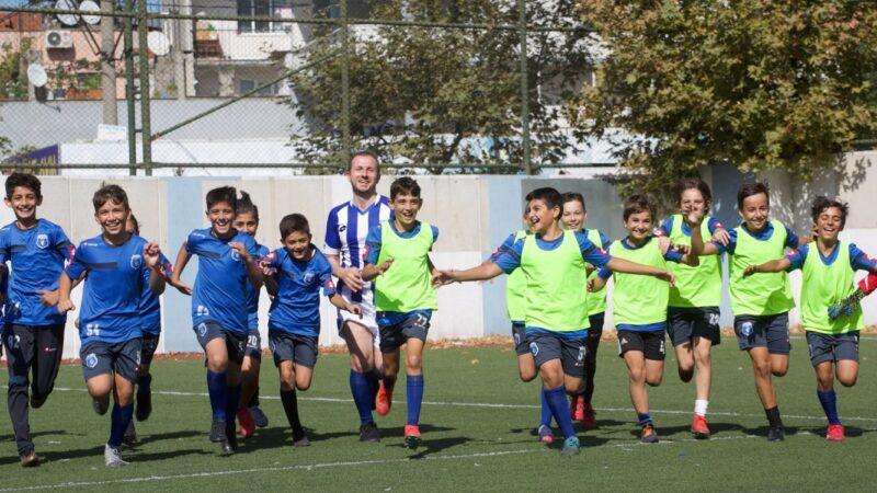 Bursa'da çocuklara dokunan kulüp! Sürpriz ziyaretçi…