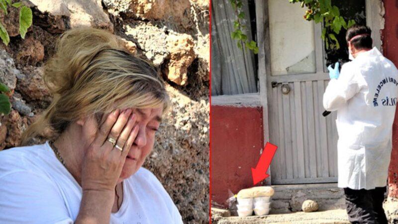 Arkadaşının cansız bedeniyle karşılaşan kadın gözyaşlarını tutamadı! Kapının önündeki ekmekler dikkat çekti