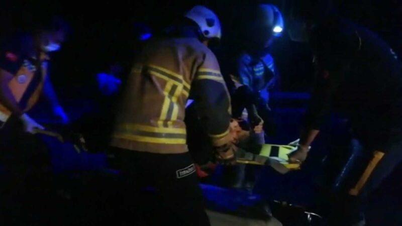 Bursa'da korkunç kaza: 1 ölü, 2 yaralı