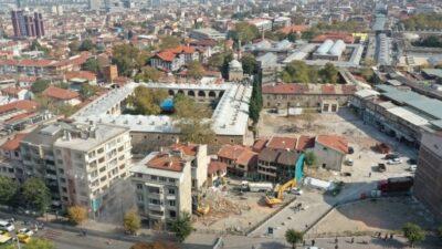 Bursa'nın eşsiz mekânı… Etrafını yıktıkça 'tarih' ortaya çıkıyor