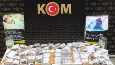 İnegöl'de kaçak sigara operasyonu