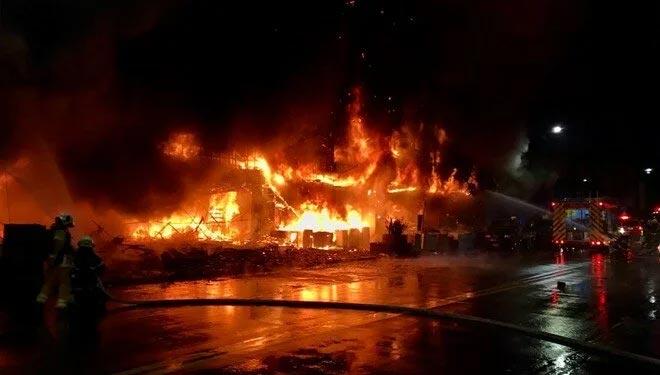 Yangın faciası: 14 ölü, 51 yaralı