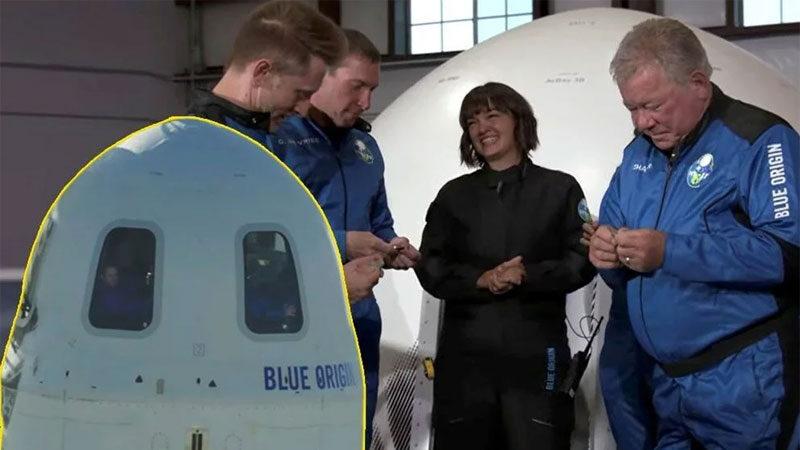 90 yaşında 10 dakikalık uçuş… Kaptan Kirk'ten uzaya yolculuk