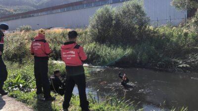 Yer: Bursa… Derede ceset aranıyor