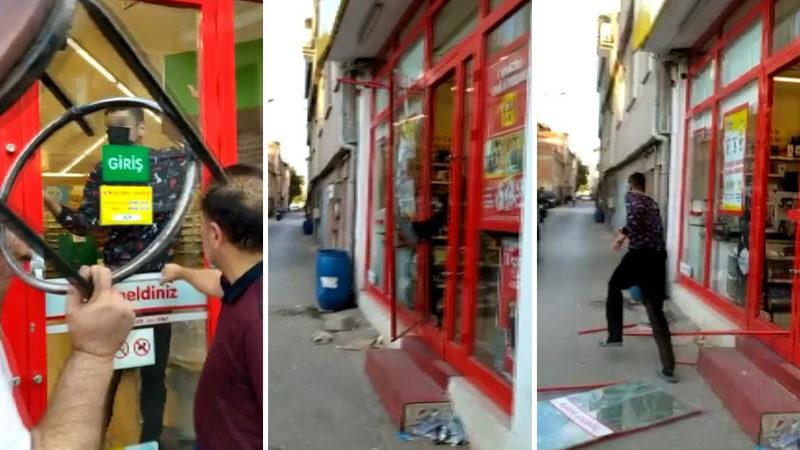 Bursa'da markette hareketli dakikalar! Kasiyer durumdan şüphelenince…