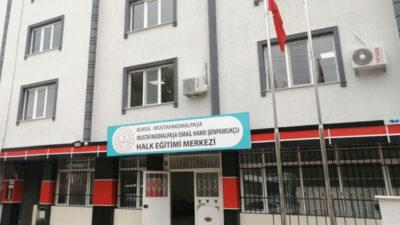 Mustafakemalpaşa'da Halk Eğitim'e yeni bina