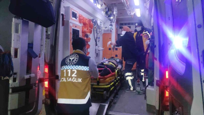 Bursa'da kazada sürücünün duran kalbi tekrar çalıştırıldı