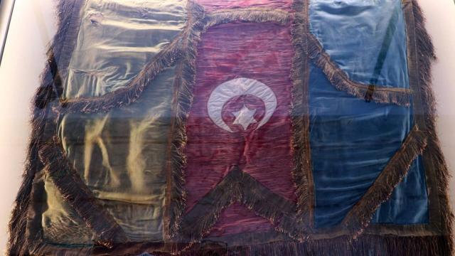 Osmanlı mirası 9 sancak sergileniyor