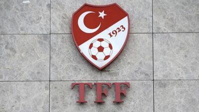 Türkiye Futbol Federasyonu'ndan flaş açıklama!