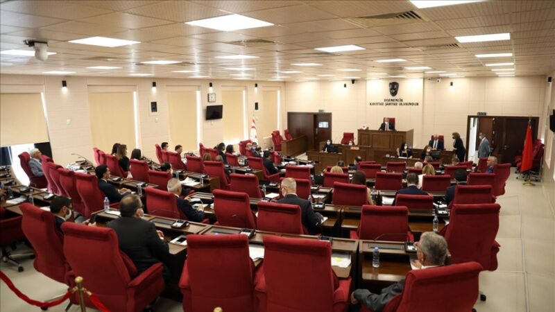 KKTC Cumhuriyet Meclisinin yeni yasama yılı törenle başladı