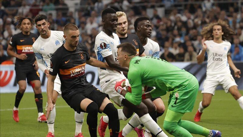 Galatasaray, Marsilya deplasmanından puanla döndü