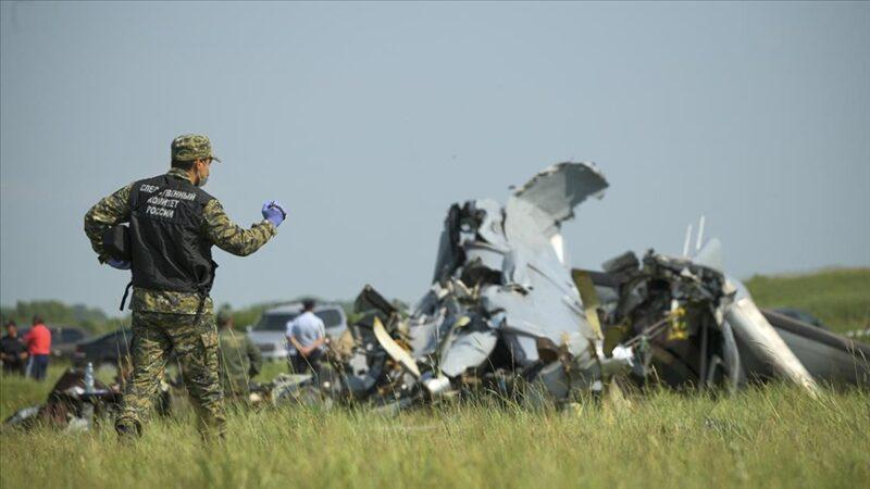Tataristan'da uçak düştü: 16 ölü