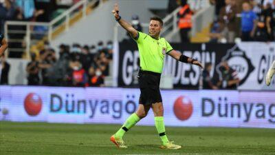 Süper Lig'de 10. haftanın hakemleri açıklandı