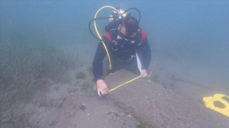 Marmara Denizi'nde keşfedildi! 3,5 metre derinlikte…