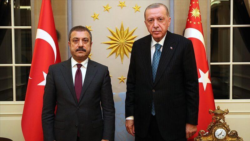 Cumhurbaşkanı Erdoğan, Kavcıoğlu'nu kabul etti